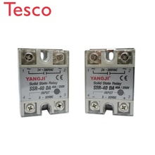 цена на Industrial use High quality SSR 40A Single Phase Solid State Relay