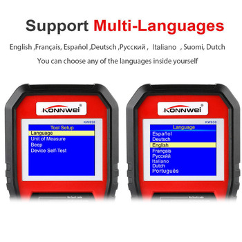 Universal Auto Diagnostic Car Scanner Tool OBD2 Function with O2 Sensor Test B99