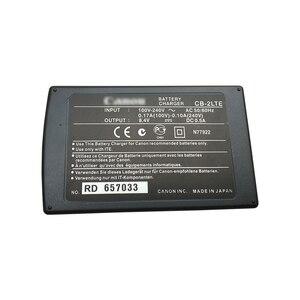 Image 2 - المحمولة كاميرا رقمية البطارية شاحن حوض CB 2LTE لكانون EOS 350D 400D G7 G9 S60 S70 S80 NB 2LH NB 2L14