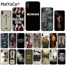 MaiYaCa phone case For iphone 11 pro X se 5s 6s 6S plus 7 plus case the walking dead hero for iphone 11 pro 8 8plus XR XS MAX(China)