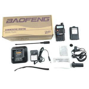 Image 5 - 2 pezzi Baofeng DM 5R Walkie Talkie Digital DMR Radio VHF UHF DM 5R Ham Radio amatoriale HF Transceiver DM5R compatibile con Motorola