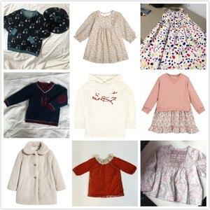 W magazynie BP dziewczyny jesień/zima sztuczne futro (królik) pikowana kurtka klapa dziewczyna sukienka dziewczyna znosić sweter chłopięcy