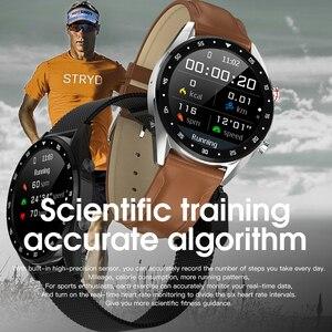 Image 5 - Reloj inteligente para Fitness, rastreador deportivo, rastreador de ritmo cardíaco, reloj inteligente resistente al agua, pulsera inteligente bluetooth para hombres y mujeres