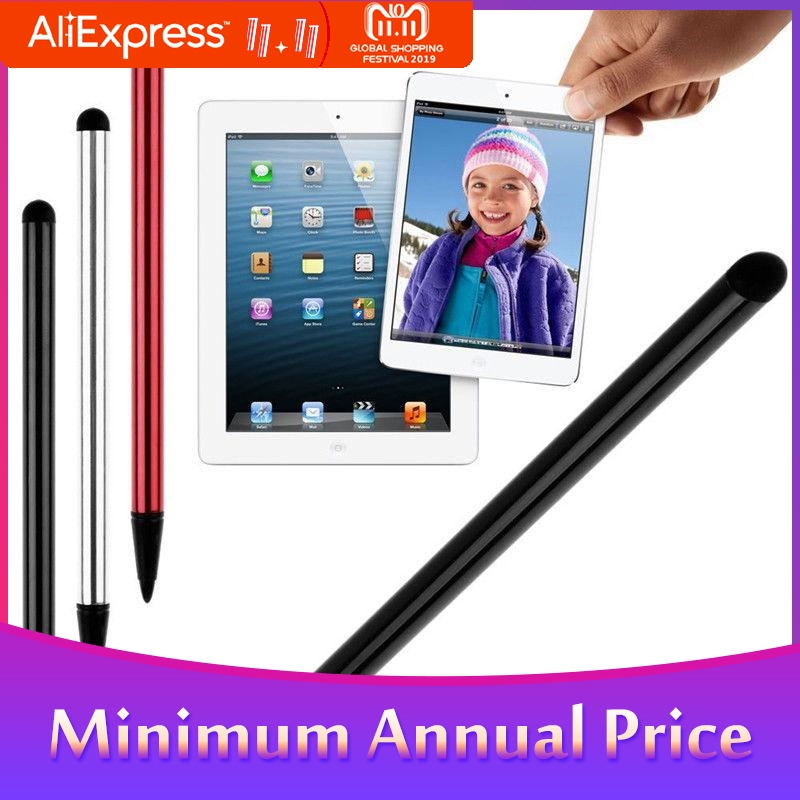 2 In 1 Capacitive Resistive Pen Touch Screen Stylus Pencil For Tablet IPad Cell Phone Samsung PC Stylus  Capacitive Pen