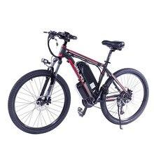 21 скорость, высокое качество, электрические мотоциклы, велосипед/электрический велосипед из углеродистой стали, 1000 Вт, 48 В, электровелосипе...