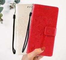 Étui portefeuille à rabat en cuir pour Alcatel 3C, 5026D, 3L, 5034D, housse de protection de haute qualité pour téléphone portable
