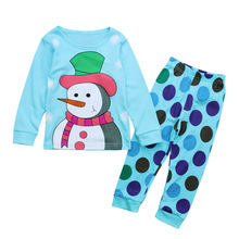 Kids Clothes Sets Baby Boys Cartoon Clothing  Fashion Long Sleeve+pants Christmas Causal Costume