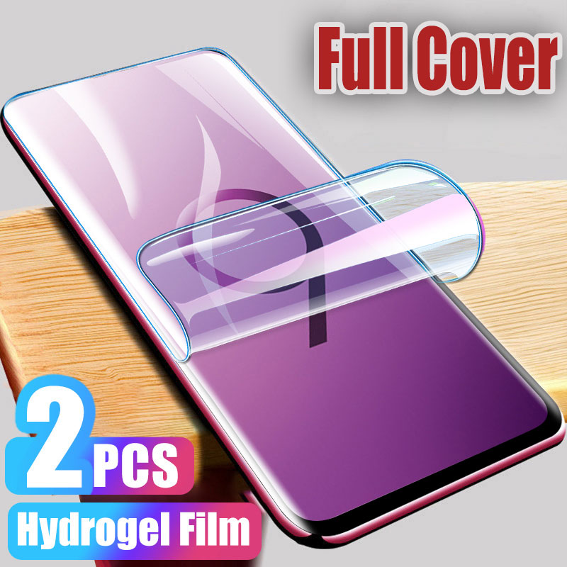 Hydrogel Film For Samsung Galaxy S8 S9 S10E S10 Plus Note 8 9 10 Plus Screen Protector For Samsung A50 A40 A70 Film Not Glass