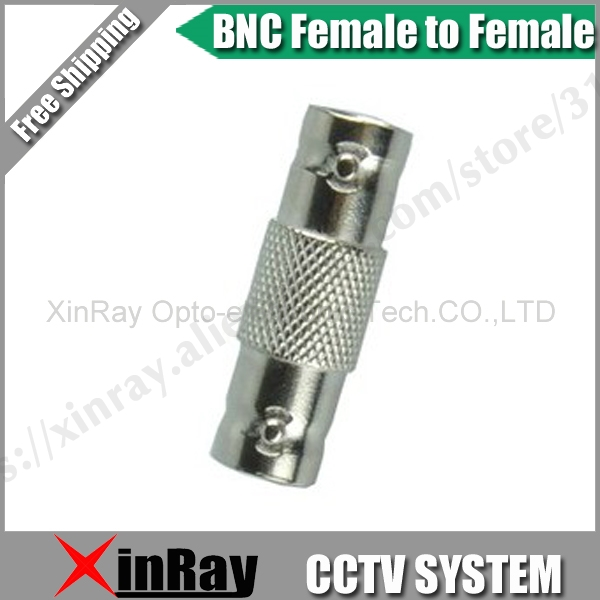 Free Shipping 20pcs BNC Female TO Female,Camera DVR Connector Adapter,CCTV Accessories ,Wholesale XR-AC27.