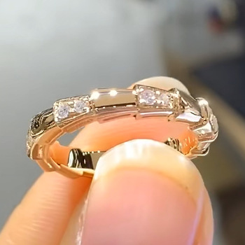 18K Rose Gold Jewelry Natural 1.5 Carat Diamond Ring for Women Classic Jewelry Wedding Ring Anillos Plata 925 Para Mujer Rings