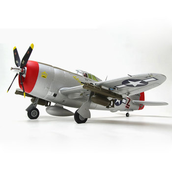 Arrows Hobby 980mm P-47 Attack Fighter RC Airplane Model Assembly Fixed-wing Aircraft (No Remote Control/Receiver/Battery ) retractable holder hard aluminum model stand bracket for rc fixed wing airplane aircraft
