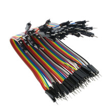 цена на Dupont line 40pcs 30cm 2.54mm 1p-1p Pin Female to Female Color Breadboard Cable Jump Wire Jumper For Arduino