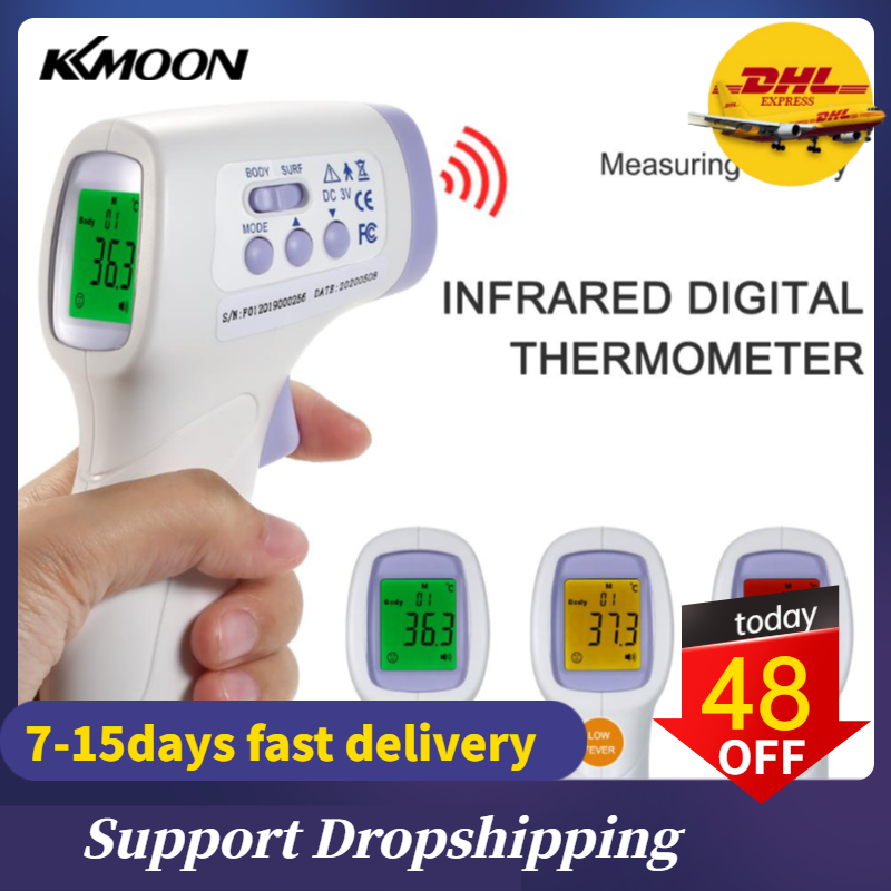 2020 IR digital Infrared Forehead Termometer Free Hand Sensor Technology Instant Read Thermometre termometro infrarojo digital|Temperature Instruments|   - AliExpress