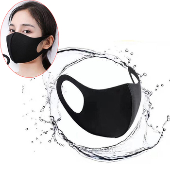 1PC Anti Haze Dust Mask Nose Filter Windproof Face Muffle Flu Fabric Cloth Respirator Cotton Cute PM2.5 Washable Mouth Mask