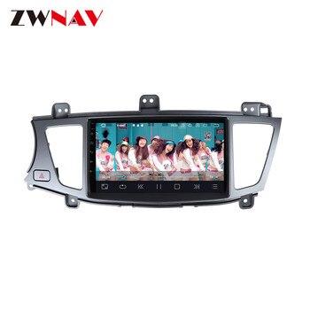 Reproductor de radio para coche Android 10,0 con navegación GPS para Kia K7 Cadenza 2007-2014, reproductor de vídeo Multimedia estéreo para coche, Unidad Central