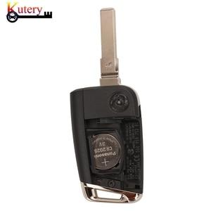 Image 5 - Kutery Originalระยะไกลคีย์สมาร์ทรถสำหรับVW/Volkswagen Golf 7 Passat Variant 3ปุ่มMQB Keyless Go 434MHZ 5G0959752BC