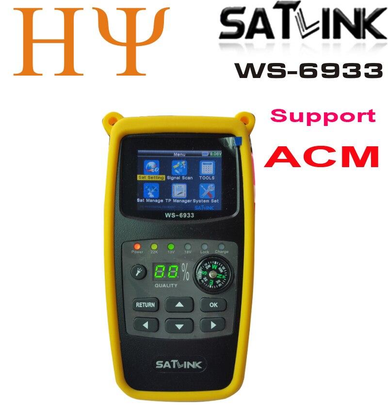 Original Satlink WS-6933 Satellite Finder DVB-S2 FTA CKU Band Satlink Digital Satellite Finder Meter WS 6933 Free Shipping Rated