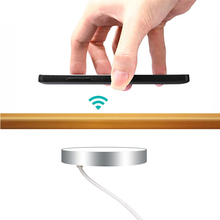QI Invisible Wireless Charger For iPhone 11 X 8 Samsung Huawei Furniture Office Desktop Hidden Embedded Table Quick Charging Pad