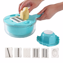 Manual Vegetable Cutter Slicer Multifunctional Fruit Potato Tomato Onion Shredder Grater Cutting Kitchen Gadget