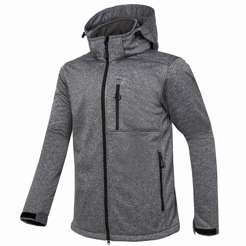New Winter Outdoor Sport Men's Waterproof Soft Shell Jacket Hiking Fleece Thermal Coat Waterproof Windproof Soft-shell Blazer
