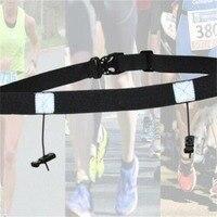 Cinturón para correr al aire libre, accesorios deportivos, prácticos, para triatlón, Maratón, número, portátil, de alta calidad