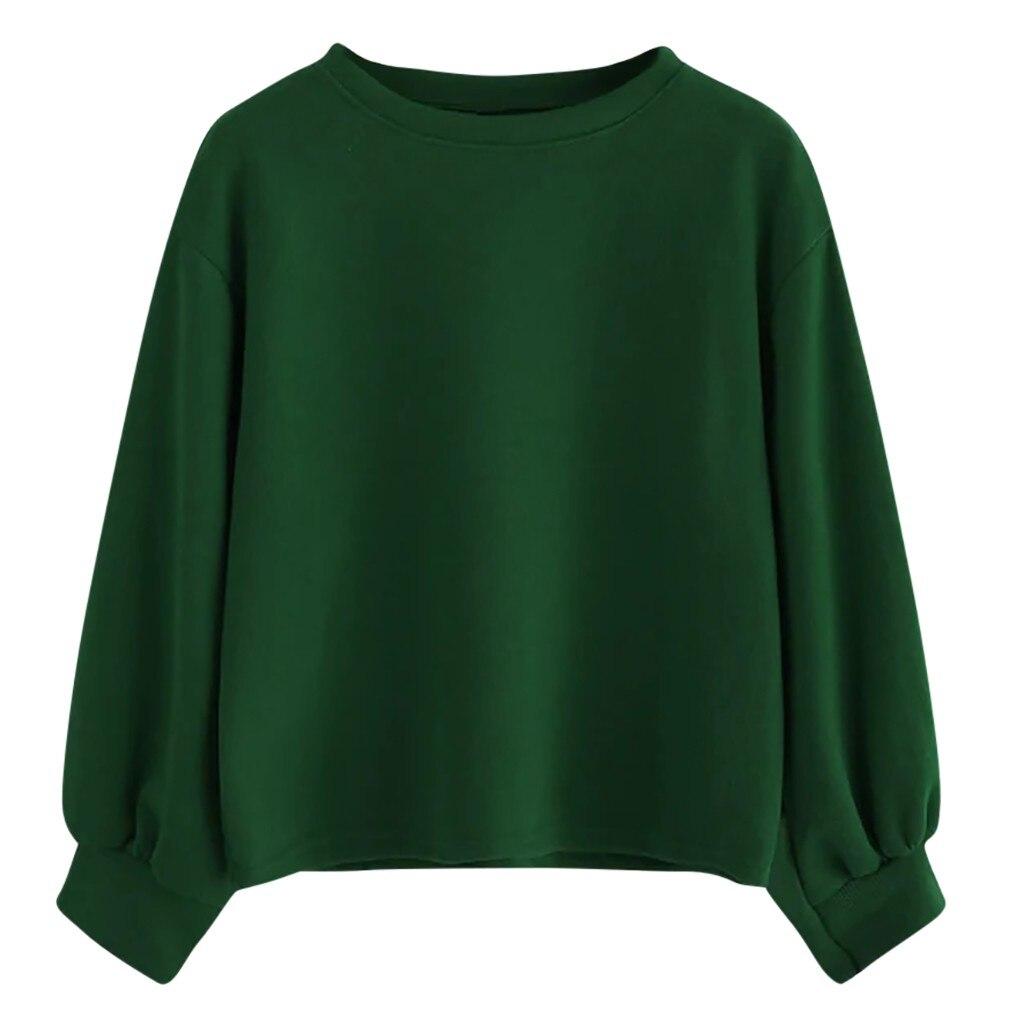 Женские толстовки осень-зима 2019, модная уличная одежда, повседневные свободные свитера с круглым вырезом и длинным рукавом, женские толстовки Sudadera Mujer