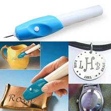Electric Engraving Pen For font b Pet b font Identity Tag DIY Handcraft Carving Scrapbooking Tools