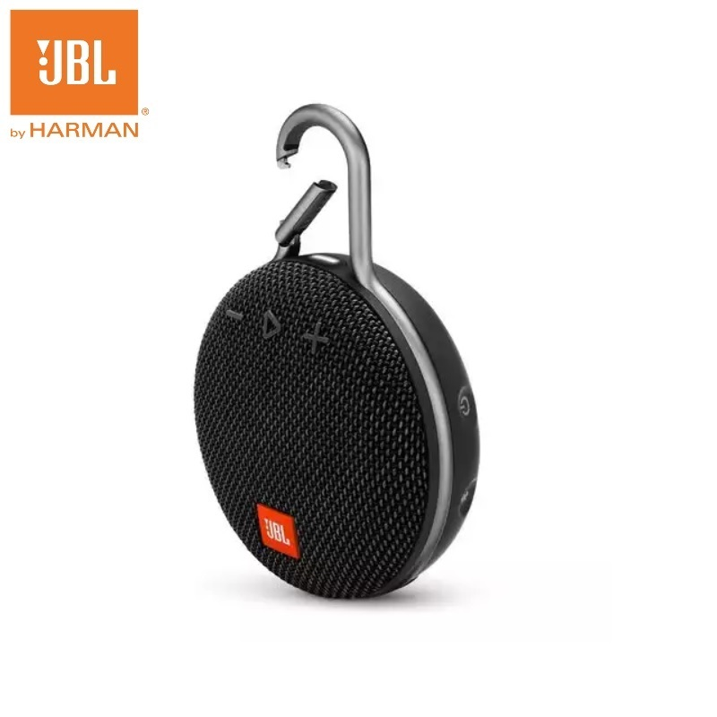 JBL Clip 3 Mini Portable Wireless IPX7 Waterproof Bluetooth Speaker with HD Microphone Passive Bass Driver 10 Hours Play|Portable Speakers| - AliExpress