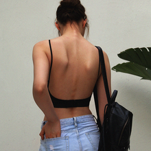 Backless Strapless Bra Push Up Lace Thin Dots Mesh RK