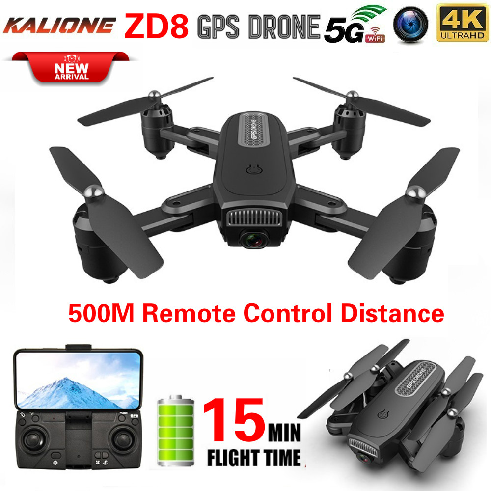ZD8 RC Drone 4k One Key Return GPS Adjustment Wide Angle Folding 2 4G  5G WIFI With Camera1080P Professional Quadcopter drones
