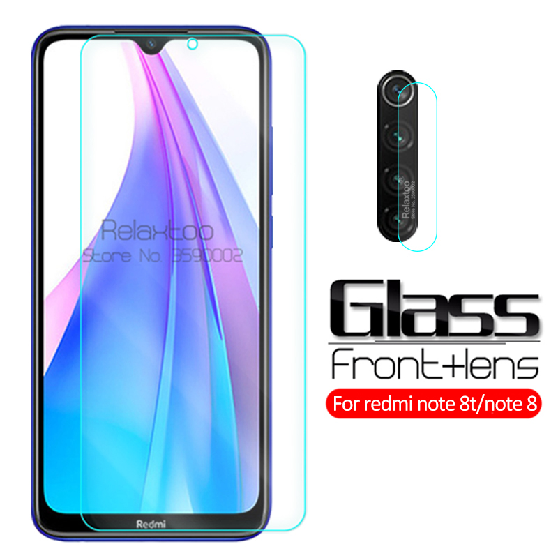 2-in-1 Back Camera Lens Protector Glass Redmi Note 8T Protective Glass For Xiaomi Redmi Note 8 T Note8 Note8T Tempered Glas Film