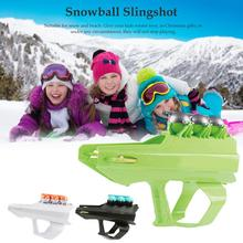 Snowball Slingshot High Quality Durable Non-toxic Safe Snowball Launching Toy Tool Kids Winter Toys For Snow And Beach