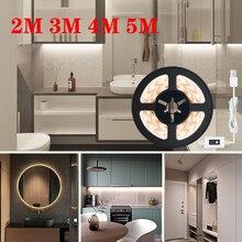2M 3M 4M 5M LED Light Strips Bedroom USB Powered 5V BackLight Lamp Lighting Living Room Night Light Cabinet Kitchen Decor