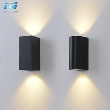 IP65 waterproof GU10 wall lamp die-casting outdoor wall lamp engineering lighting fence garden countyard villa ZBW0004 cheap Eleven Master Up Down Kitchen Dining room Bed Room Foyer Study Bathroom ROHS Wedge 90-260V Touch On Off Switch Aluminum
