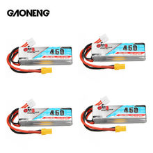 Gaoneng GNB 7.4V 2S 11.1V 3S 4S 14.8V 450MAH 80C Lipo Battery XT30 Plug for CineBee Cine Whoop BetaFPV Drone RC Quadcopter(China)