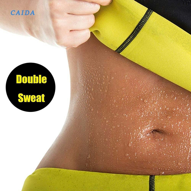 CAIDA Women Thermo Sweat Neoprene Body Shaper Slimming Waist Trainer Cincher Slimming Wraps Product Weight Loss Slimming Belt