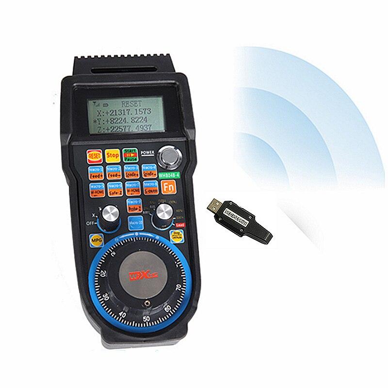 Ручка USB беспроводное управление mach3 система электронного ручного колеса для фрезерования с ЧПУ - 3