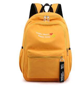 2020 New Backpack Female Soft Face College Style Junior High School Student Backpack