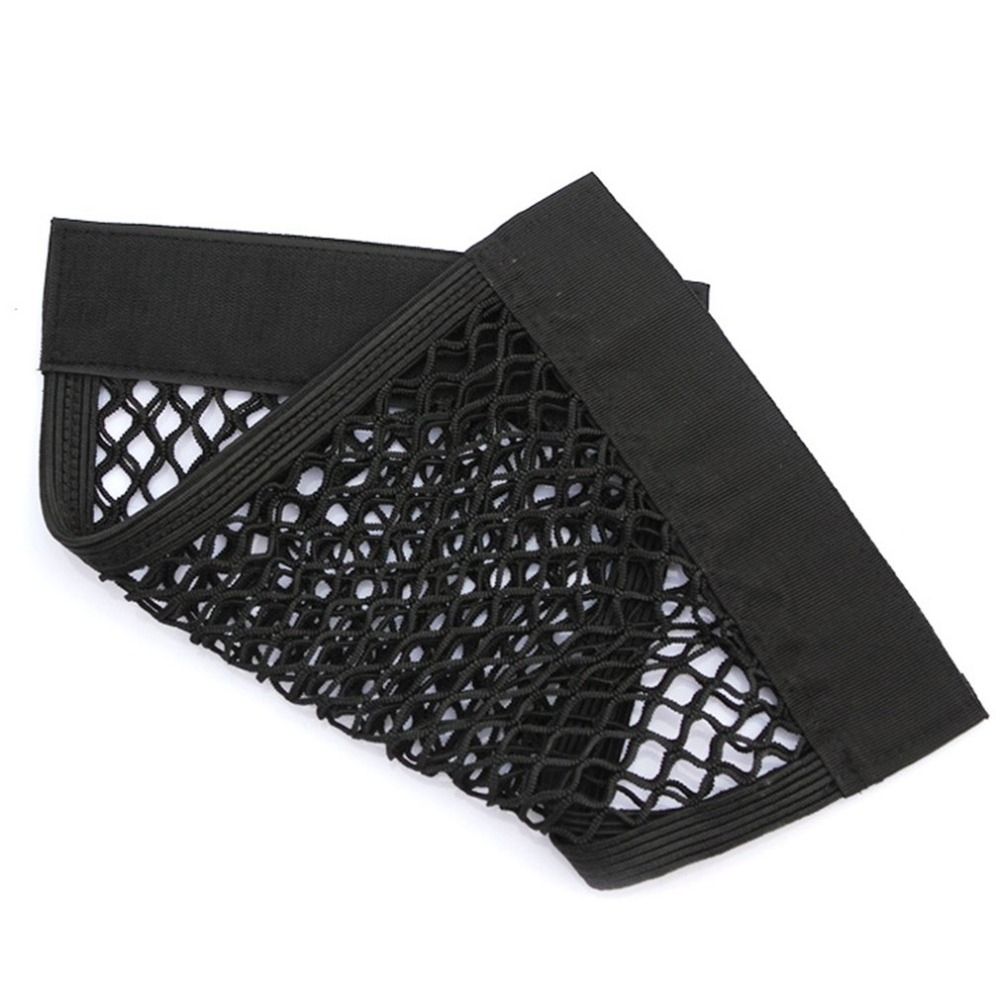 New Car Trunk Storage Net With Adhesive Tape Storage Net Car Accessories Interior Organizer Pouch Bag for Bottles/ Groceries Hot