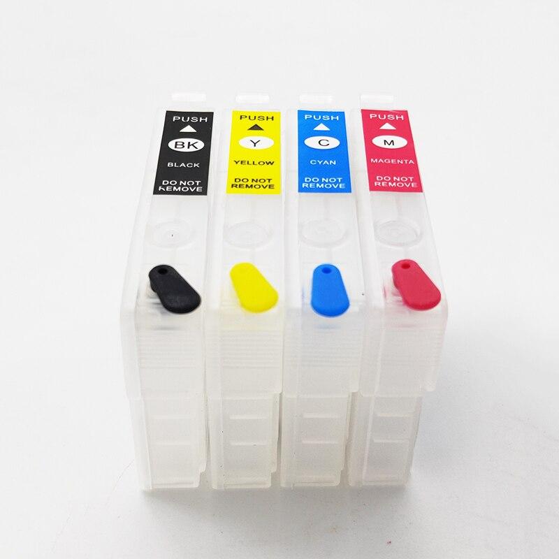 Купить eikshop 202 202xl многоразовый картридж с чернилами без чипа
