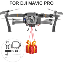 Air Dropping Thrower System Wedding Ring Gift Emergency Remotely Delivery Rescue Fishing  for DJI Mavic Pro Drone Thrower