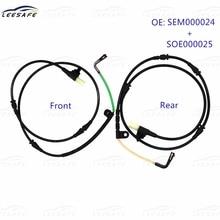 Front + Rear Alxe Brake Pad Sensor SEM000024 + SOE000025 SOE000023 for Land Rover DISCOVERY 3 4 L319 RANGE ROVER SPORT L320