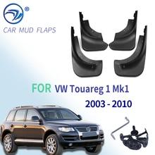 עבור פולקסווגן טוארג 1 Mk1 2003   2010 Mudflaps משמרות Splash קדמי אחורי כנף בוץ כנפי מגני בץ פגוש 2004 2005 2006 2007 2008 2009