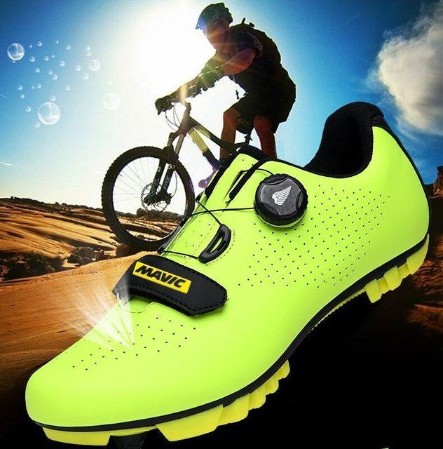 Mavic mtb ciclismo sapatos homem esporte ao ar livre sapatos de bicicleta auto-bloqueio profissional de corrida de estrada sapatos 5