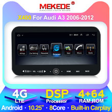 Mekede 4G + 64G Auto Gps Stereo Voor Audi A3 8P 2003-2012 S3 2006-2012 RS3 Sportback 2011 Audio Multimedia Video Player Bt Wifi(China)