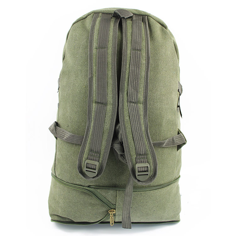 2019 New Style Sports Outdoor Hiking Travel Backpack Heightening Sports Rides Luggage Retro Canvas Mountaineering Bag