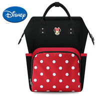Disney Mummy Diaper Bag USB Heating Cartoon Mickey Women Backpack Large Capacity Nursing Travel Bag