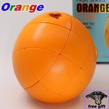 Fanxin Пазлы фруктовый куб оранжевый розовые персиковые кубические