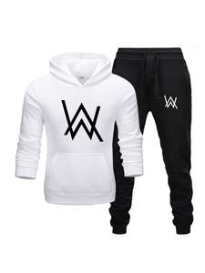 Men Tracksuit Two-Pieces-Set Hoodies Sportswear Brand Clothes Fashion New Hot Autumn