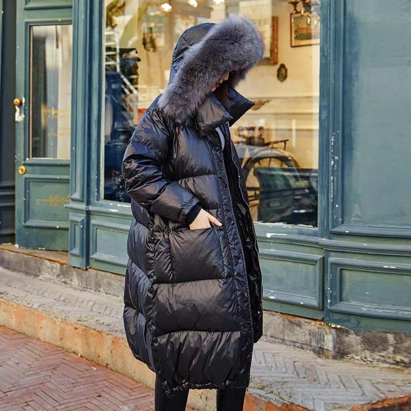 Зимний женский пуховик, белый пуховик, женские пальто, верхняя одежда, шапка с мехом, воротник зимний теплый, одежда, толстые парки